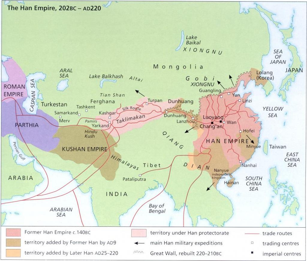 Silk Road Links for Silk Road Map Printable