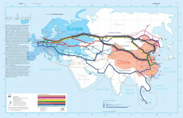 Silk Road Map Printable