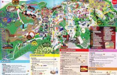 Six Flags Great America Printable Park Map