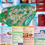 Six Flags Over Texas Map | Sitedesignco Regarding Printable Six Flags Over Georgia Map