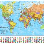 Small Printable World Map | Europe Centred Maps International For Small World Map Printable