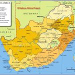 South Africa Maps | Printable Maps Of South Africa For Download With Regard To Printable Map Of South Africa