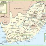 South Africa Political Map In Free Printable Political Map Of Africa