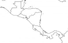 Blank Map Of Latin America Printable