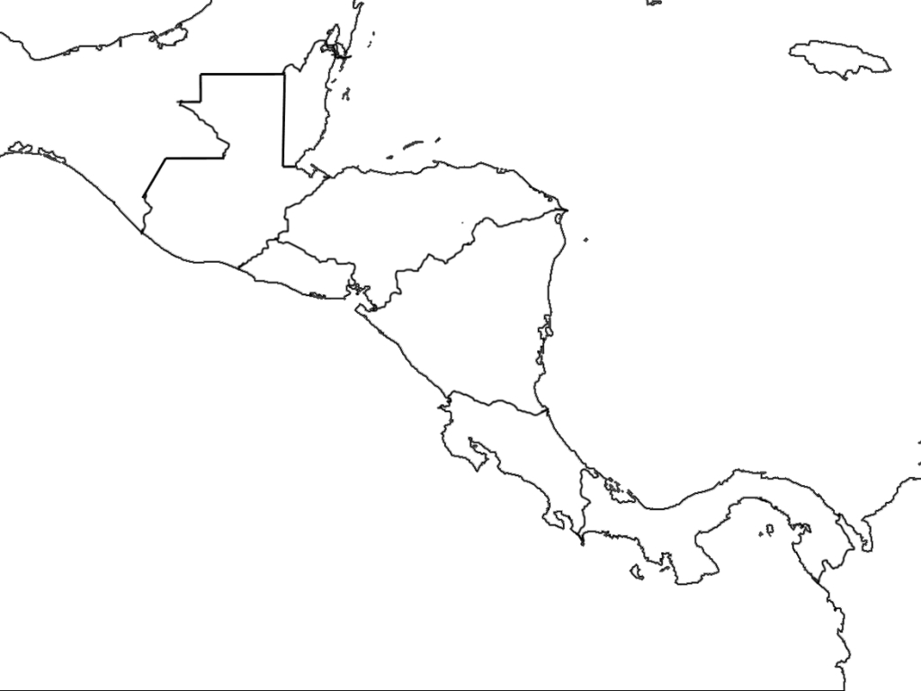 South America Map Blank Printable Free Blank Map North And South with regard to Blank Map Of Latin America Printable