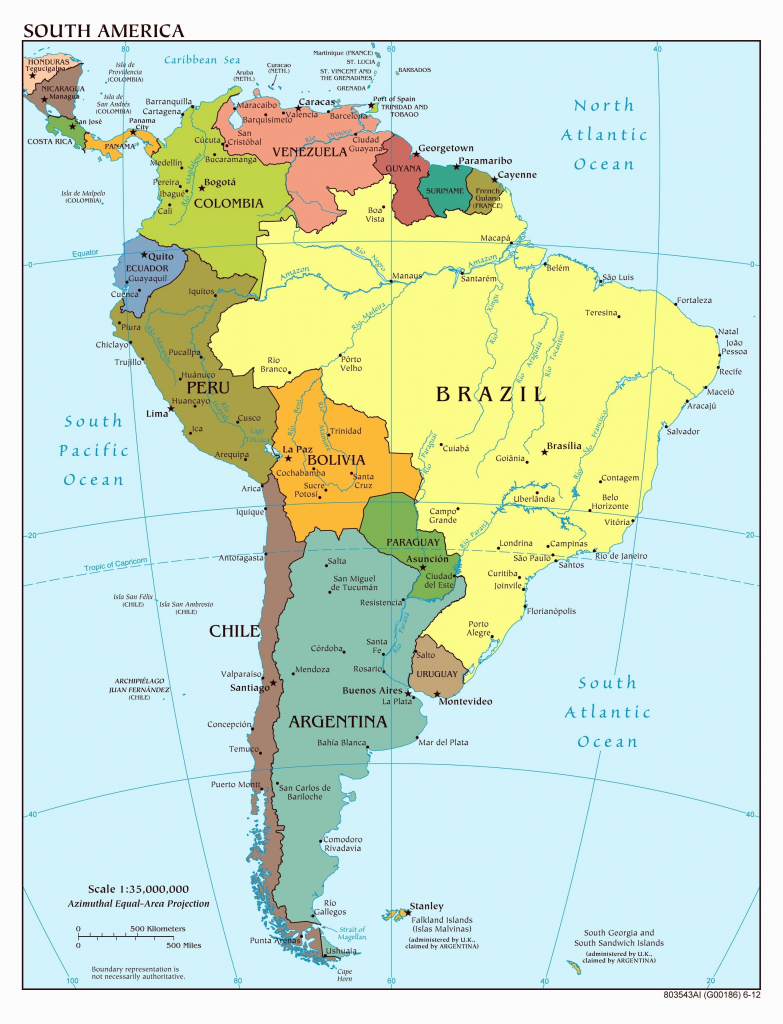 South America Physical Map Labeled Recent The United States Us With intended for Printable Physical Map Of North America