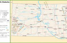 Printable Map Of South Dakota
