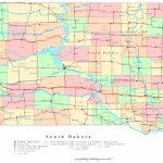 South Dakota Printable Map For South Dakota County Map Printable