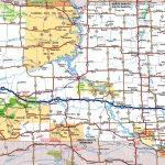 South Dakota Road Map Throughout Printable Map Of South Dakota