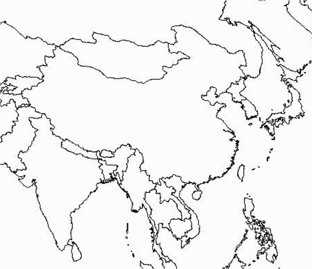 Southeast Asia Map Blank Outline Of South And Middle East Free within Middle East Outline Map Printable