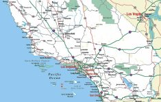 Printable Road Map Of Southern California