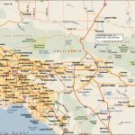 Southern California Map Map With Image Driving Map Of Southern Throughout Printable Road Map Of Southern California