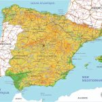 Spain City Plans Vector Street Maps In The Adobe Illustrator Pdf For Printable Map Of Spain Pdf