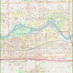 Spokane Downtown Map With Regard To Downtown Spokane Map Printable