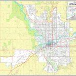 Spokane Street Map Regarding Downtown Spokane Map Printable