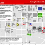 Sporting Events March 1 3, 2019 – Transportation Services – Uw–Madison Within Printable Uw Madison Campus Map