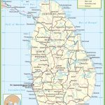 Sri Lanka Political Map Pertaining To Printable Map Of Sri Lanka