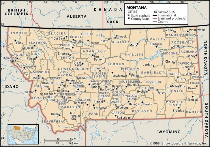 Washington State Counties Map Printable