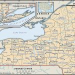 State And County Maps Of New York With Printable Map Of New York State