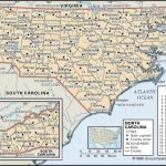 State And County Maps Of North Carolina With Printable Map Of North Carolina Cities