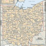 State And County Maps Of Ohio Throughout Printable Map Of Ohio