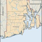 State And County Maps Of Rhode Island For Printable Map Of Providence Ri