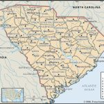State And County Maps Of South Carolina Intended For South Carolina County Map Printable