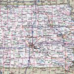 State Of Iowa Map Road | D1Softball With Regard To Printable Iowa Road Map