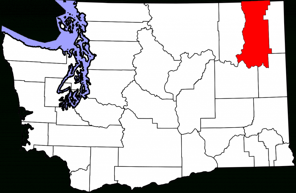 Stevens County, Washington - Wikipedia within Washington State Counties Map Printable