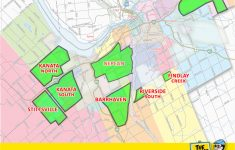 Printable Map Of Ottawa