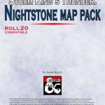Storm King's Thunder: Nightstone Map Pack   Dungeon Masters Guild For Storm King's Thunder Printable Maps