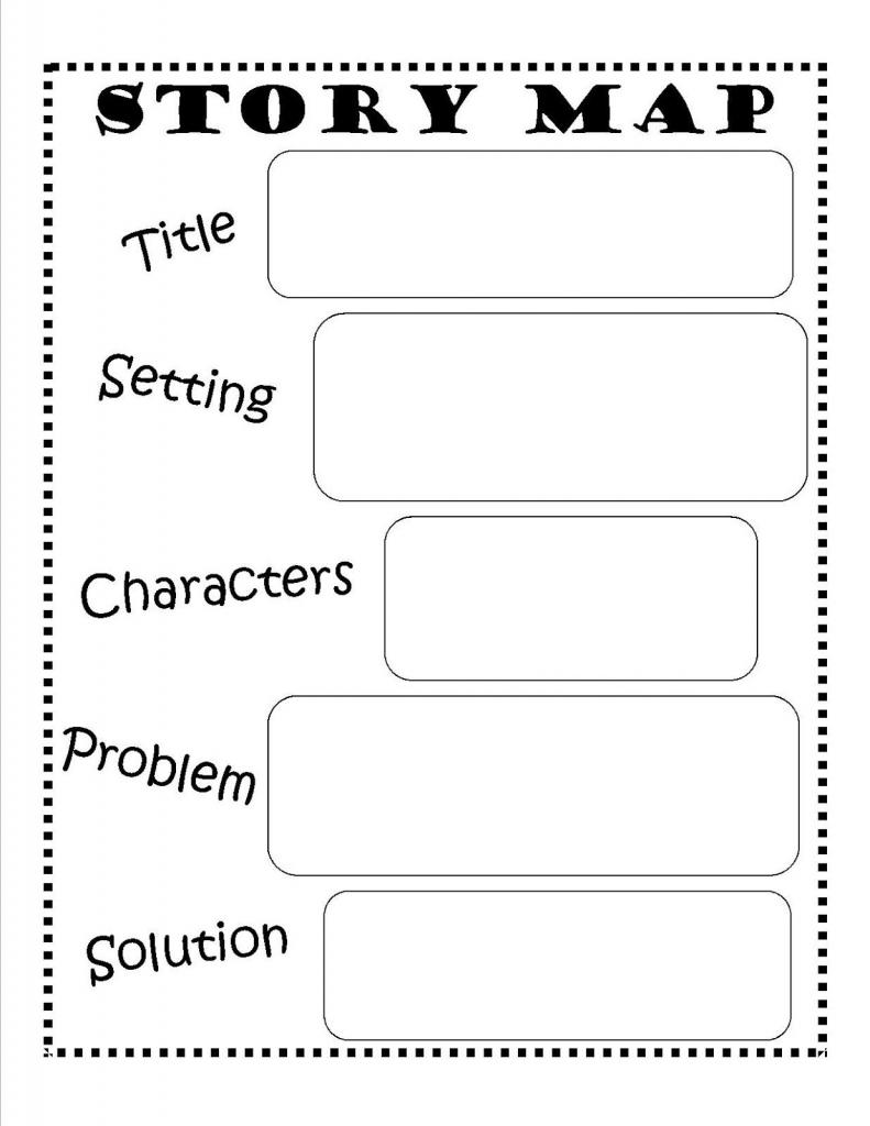 Story Map - Free Printable #reading #writing #kids | Ela | Story Map with Free Printable Story Map
