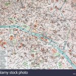Street Map Stock Photos & Street Map Stock Images   Alamy For Printable Street Map Of Harrogate Town Centre