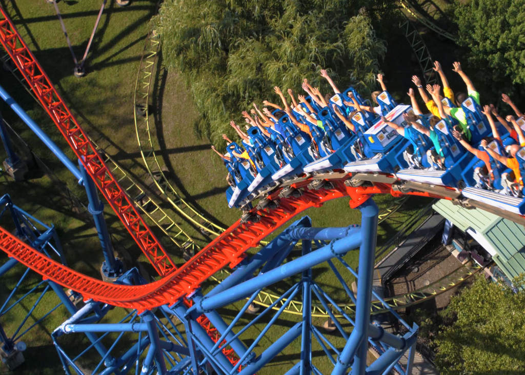 Superman™ The Ride | Six Flags New England for Six Flags New England Map Printable