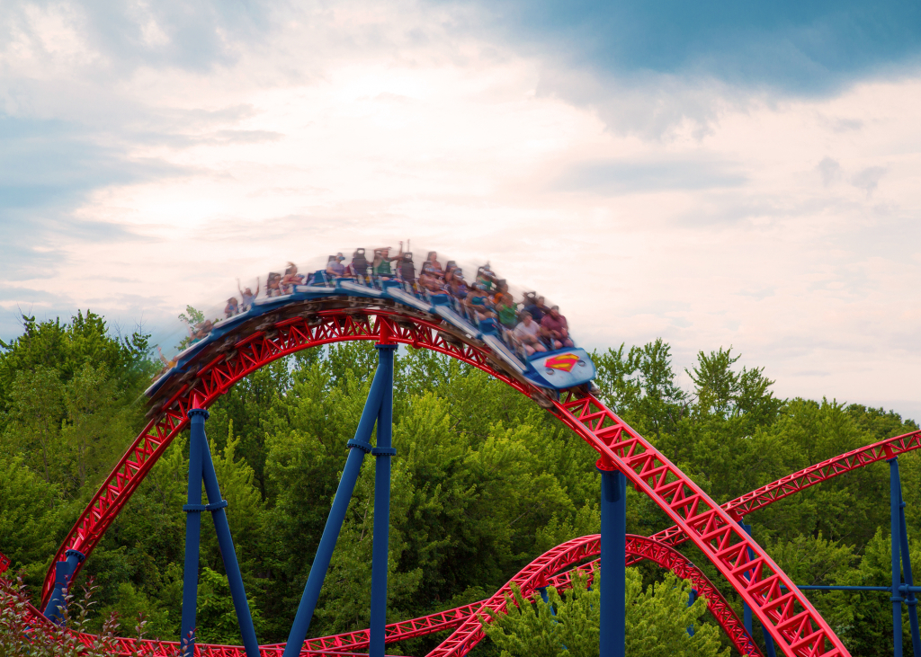 Superman™ The Ride | Six Flags New England inside Six Flags New England Map Printable