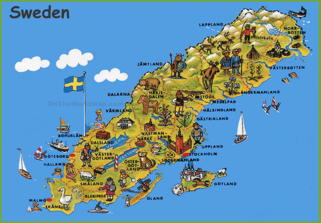 Sweden Maps | Maps Of Sweden | Sweden1 | Tourist Map, Sweden Map, Sweden intended for Stockholm Tourist Map Printable