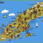 Sweden Tourist Map Pertaining To Printable Map Of Sweden