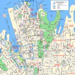 Sydney Attractions Map Pdf   Free Printable Tourist Map Sydney Within Sydney City Map Printable