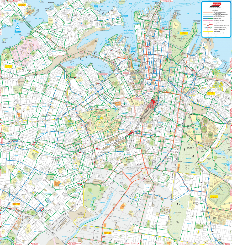 Sydney Maps | Australia | Maps Of Sydney in Printable Map Of Sydney Suburbs