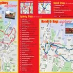 Sydney Maps   Top Tourist Attractions   Free, Printable City Street Map Regarding Sydney City Map Printable