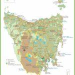 Tasmania Maps   Australia   Maps Of Tasmania (Tas) Intended For Printable Map Of Tasmania