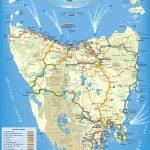 Tasmania Maps   Australia   Maps Of Tasmania (Tas) With Printable Map Of Tasmania