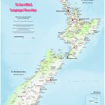 Te Reo Māori Map Of Aotearoa/new Zealand | The Map Kiwi With Regard To Printable Map Of New Zealand