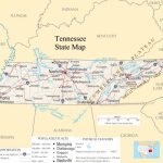 Tennessee Pictures | Tennessee State Map   A Large Detailed Map Of Throughout State Map Of Tennessee Printable