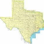 Texas Printable Map For Printable Map Of Texas