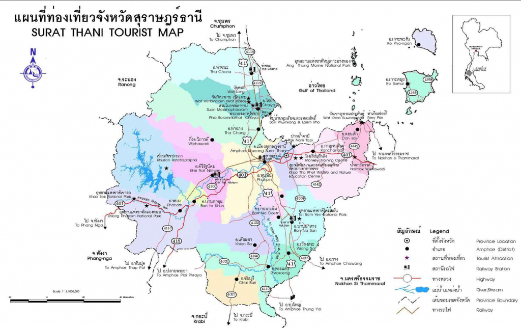 Thailand Maps | Printable Maps Of Thailand For Download with regard to Printable Map Of Thailand