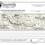 The Actual, The Original Oregon Trail Map! – Surviving The Oregon Trail For Printable Map Of The Oregon Trail