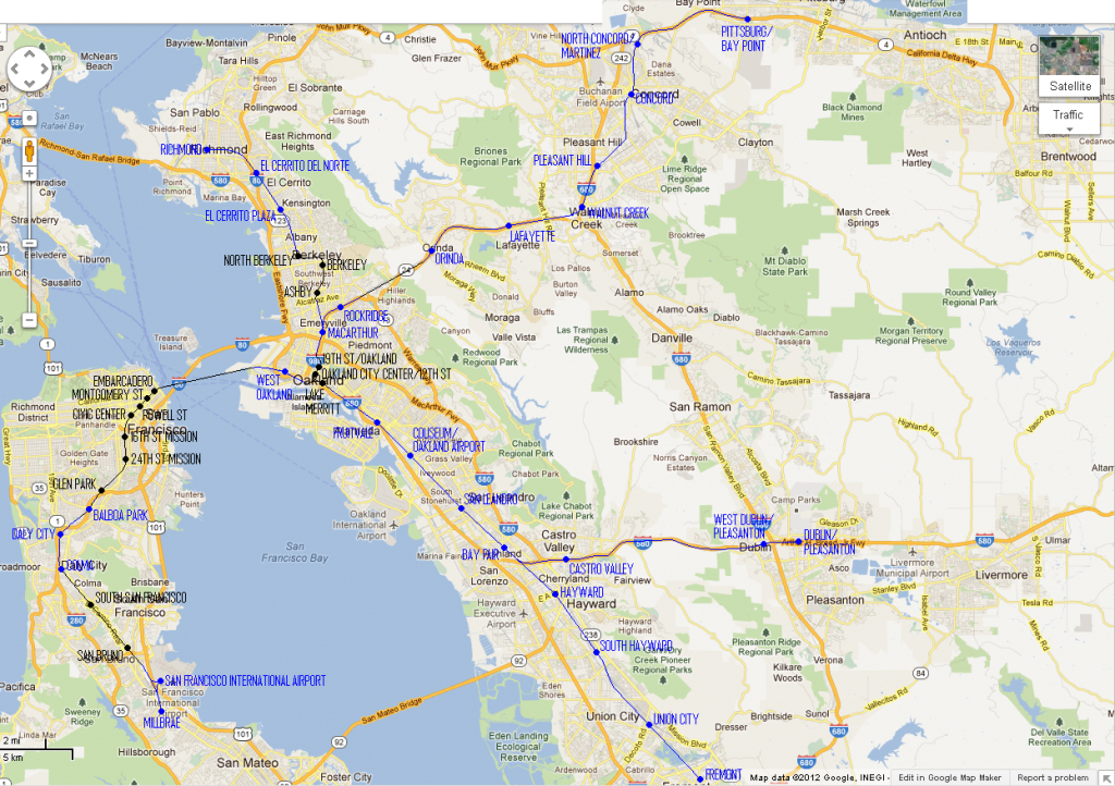 The Bart Map, To Scale – Flyga Natten in Printable Bart Map