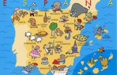 Printable Map Of Spain Pdf
