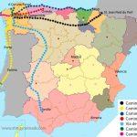 The Camino De Santiago   All You Need To Know   Stingy Nomads With Regard To Printable Map Of Camino De Santiago